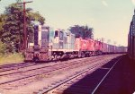 BM/CP freight arrives in Brightwood Yard